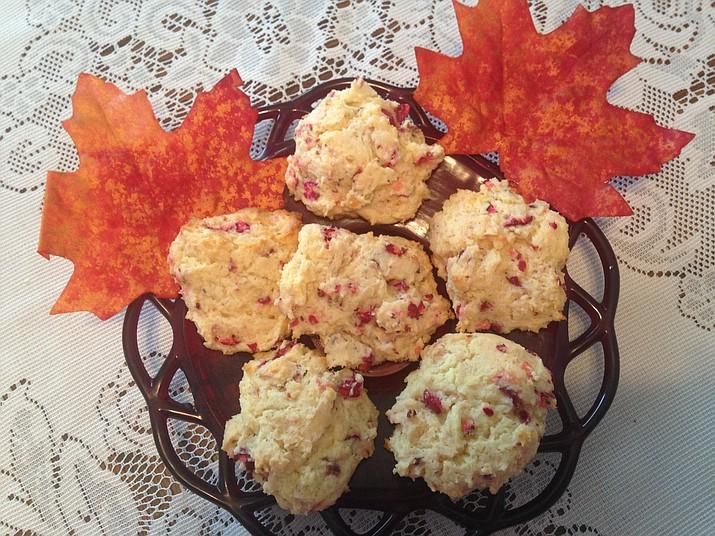 Cranberry pistachio cookies (Courtesy)