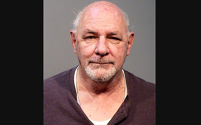 Joseph Collins, 72, of Prescott Valley was arrested for allegedly impersonating a peace officer Nov. 9. (Photo/Yavapai County Sheriff's Office)