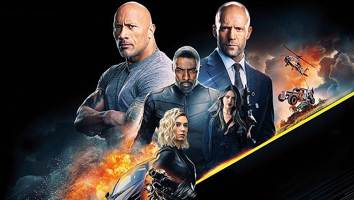 "The Monday night movie ""Fast & Furious Presents: Hobbs & Shaw"" will be showing at the Prescott Valley Public Library, 7401 E. Civic Circle, First floor auditorium at 5 p.m. on Monday, Oct. 21. (Universal Pictures)"