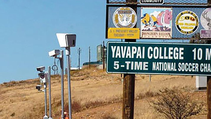 Remember the photo radar system years ago in Prescott Valley - from which you could find a speeding ticket in your mailbox? You can tell it was a while ago (Yavapai College soccer has won more titles since then). Those are gone, and now cities and towns in the area are using radar speed signs. (Courier file)