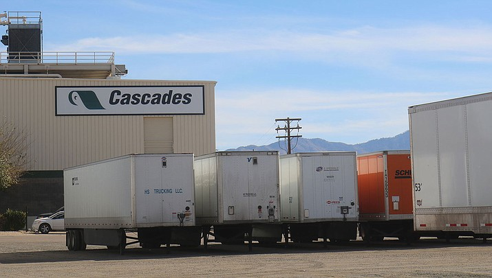 Cascades said in a press release that the Kingman location will continue operations until its lease is up at the end of October 2020. (Photo by Travis Rains/Daily Miner)