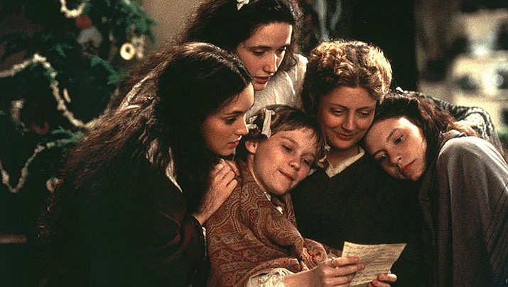 Little Women is the featured film for Wednesday night movies at the Elks Theatre & Performing Arts Center, 117 E. Gurley St. at 7 p.m. on Wednesday, Nov. 20. (Columbia Pictures)