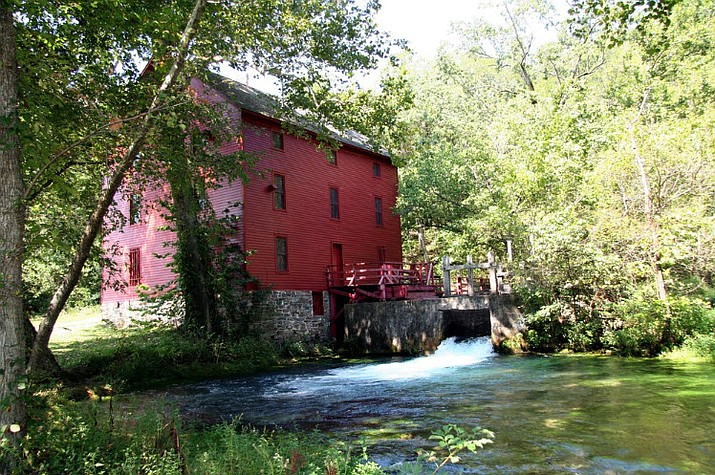 Alley Mill in Ozark National Scenic Riverways. (Photo/NPS)