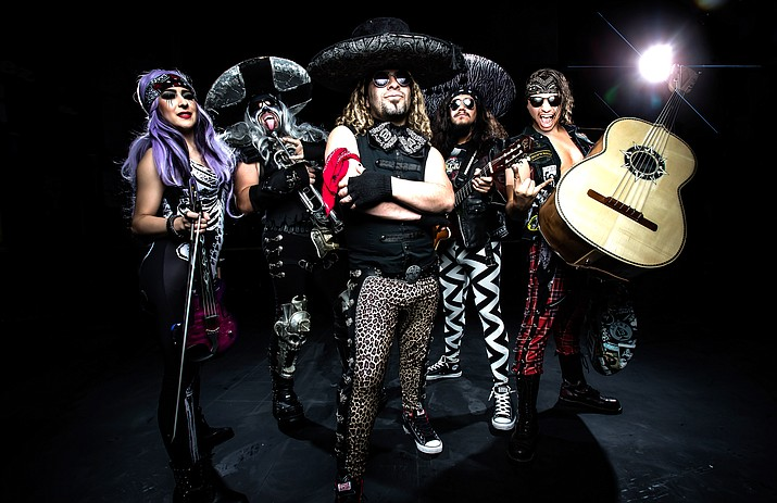 """Metalachi's consistently upbeat crowd pleasing performances have kept them touring for years, even stopping to play the """"America's Got Talent"""" stage a couple of years ago.  Whether you are a rock/heavy metal fan or a mariachi fan, you will love this band."""