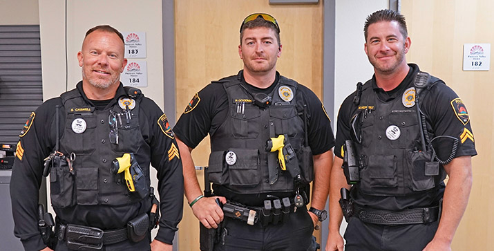 PV, Prescott Police participate in No Shave November to raise awareness of men's cancer