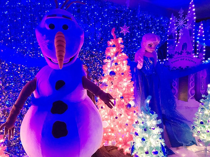 Enchanted Christmas Prescott 2020 Enchanted Christmas Indoor Tour of Lights returns to Prescott