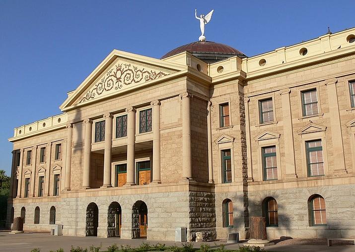 The Arizona State Capitol building in Phoenix. (courtesy)