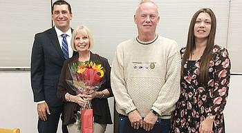 Lake Valley principal, staff and volunteers honored photo