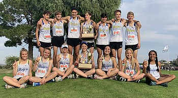 Prescott girls capture first place at state meet; boys strike silver photo