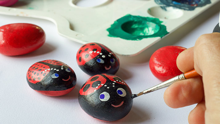 Come paint rocks with the Mohave Community College Art Club, Nov. 19