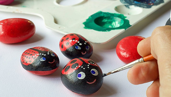 Come paint rocks with the Art Club for free at the Mohave Community College, Neal Campus, 1971 Jagerson Ave, Kingman from 5 to 7 p.m. on Tuesday, Nov. 19. (Stock image).