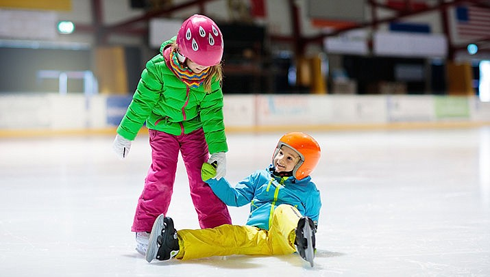 Recreational ice skating and ice hockey is at Findlay Toyota Center, 3201 N. Main St. in Prescott Valley from Nov. 16 through Jan. 1. (Stock image)