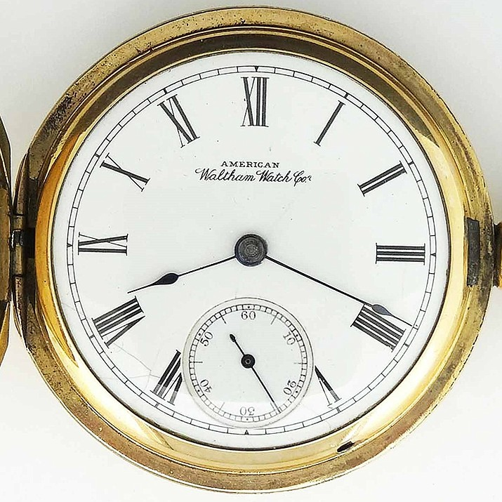A gold pocket watch, like the one above, that belonged to John Muir has been missing since 1978. (Photo/NPS)
