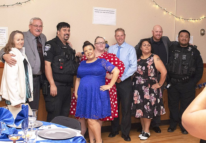 The second annual police awards gala was held Nov. 2 at the Winslow Elks Club. Around 70 people attended. (Todd Roth/NHO)