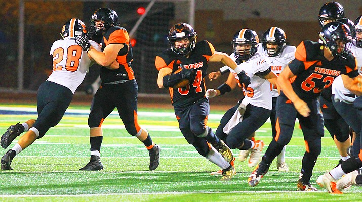 Running away with it: Vikings beat Panthers to clinch second state championship title in 3 years