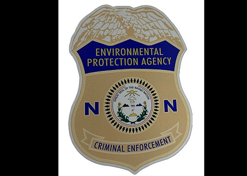 The utilization of the Navajo Nation EPA's Criminal Enforcement Division seal on all criminal enforcement officer vehicles on the Navajo Nation was approved Nov. 7. (Photo/Office of the President and Vice President)