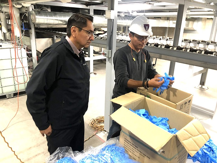 Navajo Nation Invests 19 Million In Nitrile Glove Manufacturing Facility Navajo Hopi Observer Navajo Hopi Nations Az