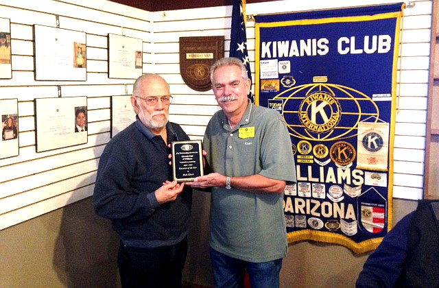 Rick Kleck was named Kiwanian of the Year by Kiwanis members Nov. 6. (Submitted photo)