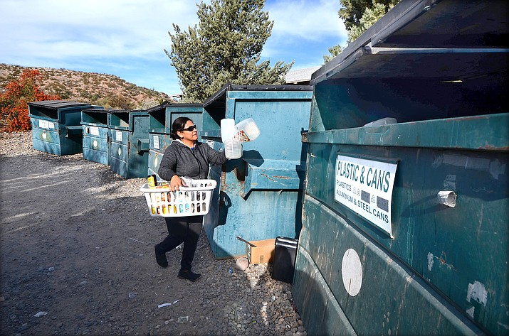 Bin recycling services in Cornville and the Village of Oak Creek will continue at least through Nov. 20, 2021 thanks to action by the Yavapai County Board of Supervisors to renew contract services with Sedona Recycles. VVN/Vyto Starinskas