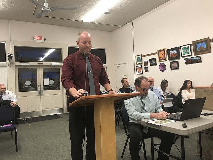 The city's recreation services director, Hezekiah Allen, along with Brian Sager from Norris Design of Phoenix, presented the final master plan for Riverfront Park to the Cottonwood Council on Tuesday. The plan can be found online here: bit.ly/34dL9I4