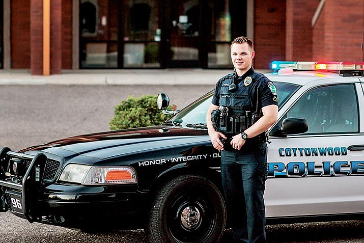 Cottonwood Officer Brandon Clark is responsible for the CW9 neighborhood, which is a mostly unpopulated area around State Route 89A, Zalensky Road and Cornville Road, east of the Verde River.