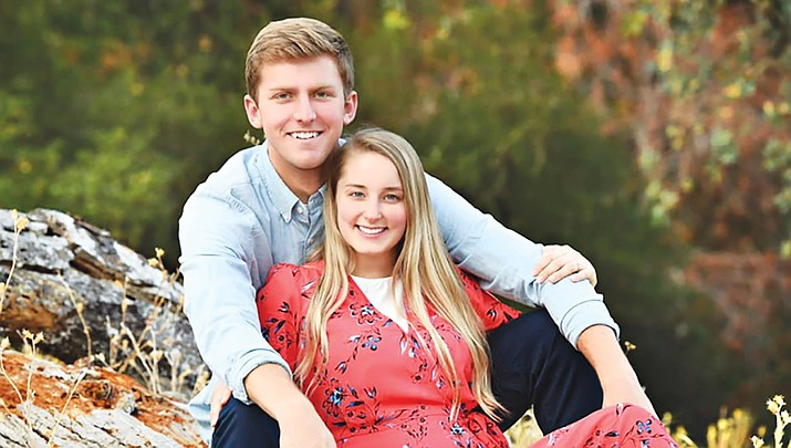 Samantha Hirz of Kingman and Cameron Madsen of El Dorado Hills, California, will marry on Saturday, Dec. 21. (Courtesy photo)