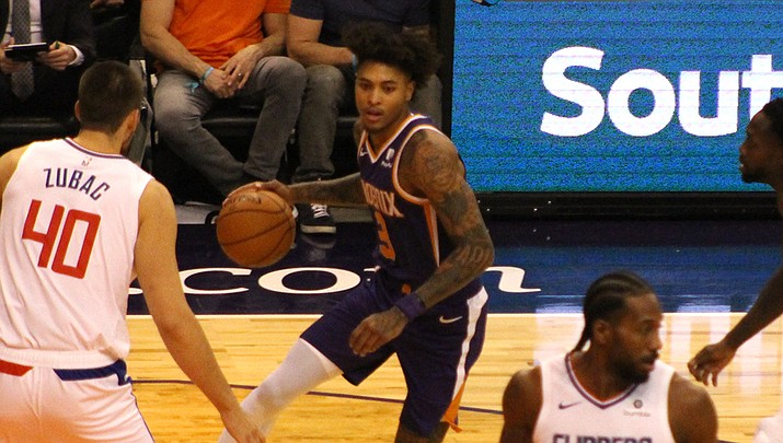 Kelly Oubre Jr. scored 25 points for the Suns in a 124-121 loss to the New Orleans Pelicans on Thursday night. (Miner file photo)
