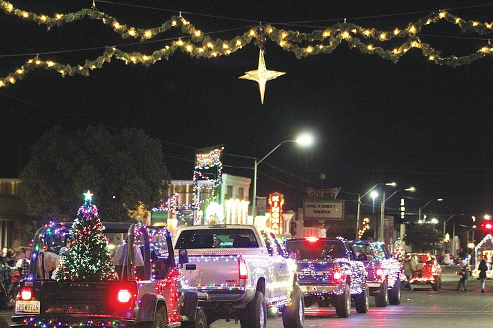The 2019 edition of the Very Merry Parade of Lights will begin at 7 p.m. Saturday, Dec. 7 near Lee Williams High School. (Miner file photos)