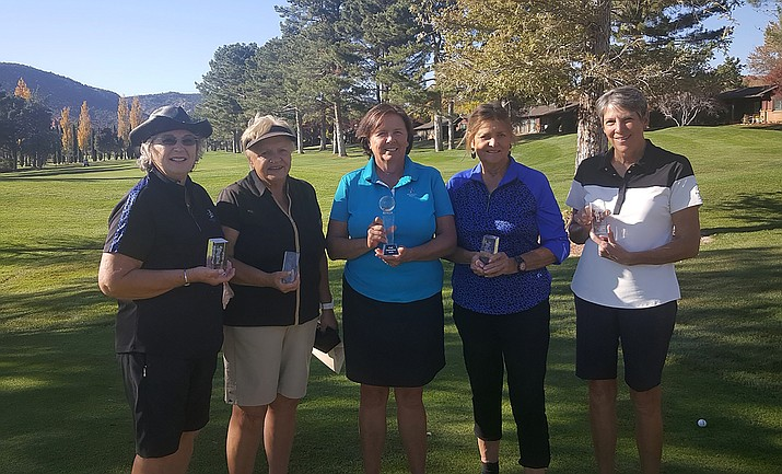 From left: Marion Maby, Kathy Davidson, Donna Cantello, Barbara Erickson and Penny Fischer. Photo courtesy Julie Larson