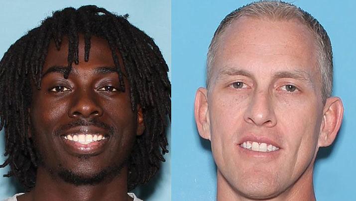 Emanuel Simpson and Philip Johnson (Pima County Sheriff's Office photo)