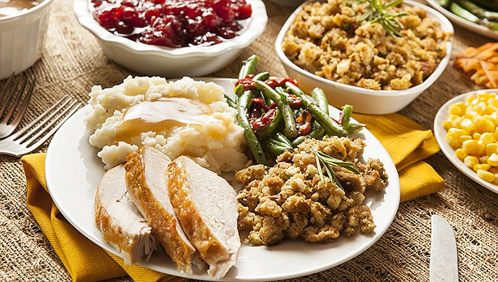 The Salvation Army's Free annual Thanksgiving Community Dinner is being held at the Mile High Middle School cafeteria, 300 S. Granite St. in Prescott from 11 a.m. to 2 p.m. on Thursday, Nov. 28. (Stock image)