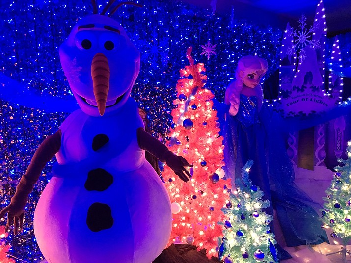 The 6th annual Enchanted Christmas Indoor Tour of Lights is being held at Prescott Gateway Mall, 3280 Gateway Blvd., Suite 302 from Friday, Nov. 29 through Monday, Dec. 30. (M & M Entertainment & Productions)