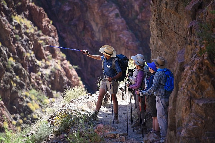 Grand Canyon Conservancy offers a variety of day hikes and backpacking tours. (Photo/NPS)