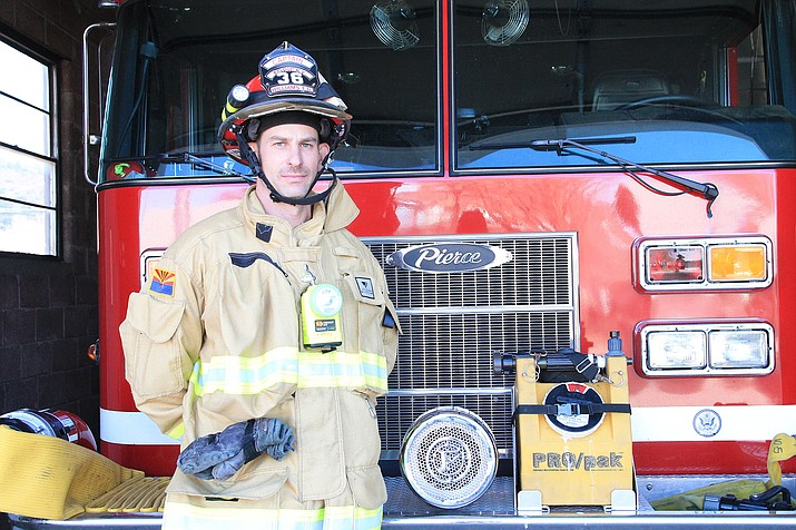 Williams Fire Captain Ryan Kopicky recently resigned from Williams Volunteer Fire Department and his job at Young Life Lost Canyon. (Loretta Yerian/WGCN)