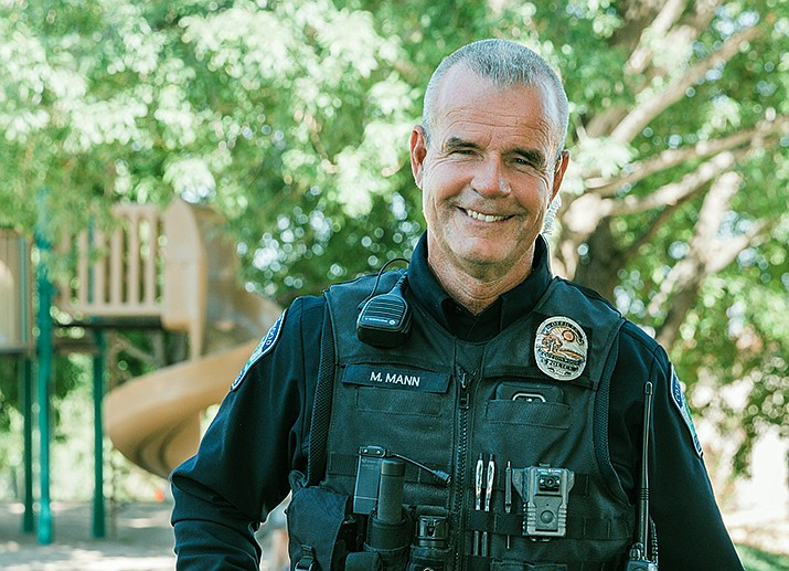 In his CW9 neighborhood patrol emphasis, Cottonwood Officer Mark Mann is responsible for the northeast section which includes Bill Gray Road to the north, Zalesky Road to the south, Cornville Road to the east and Yorba Road to the west. Courtesy Cottonwood PD