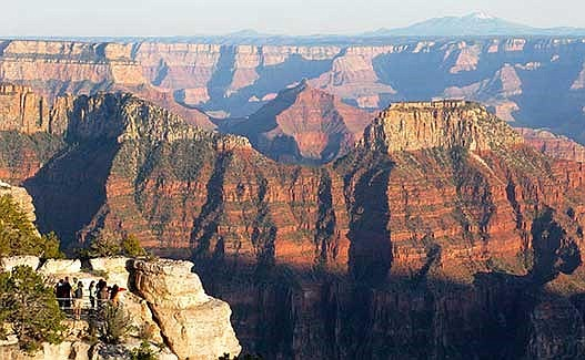 The north rim of the Grand Canyon is seen in this file photo. (Courtesy)