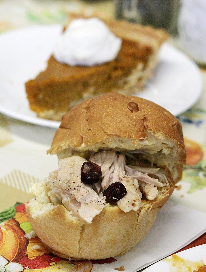 Slider sandwiches have become the finger food du jour. So why not make sliders with your Thanksgiving turkey? VVN/Bill Helm