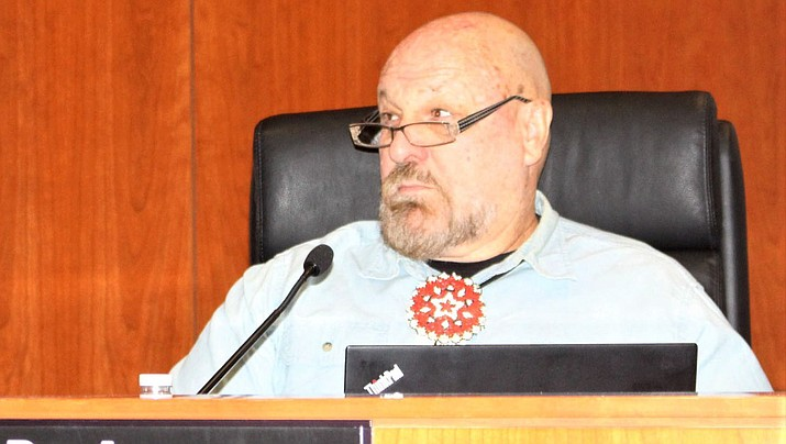 Supervisor Buster Johnson would like to see uranium mining resume in Mohave County. (Miner file photo)