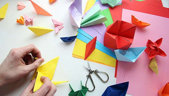 Learn how to make gift boxes, envelopes and decorations in this easy-to-medium-level paper folding class at the Prescott Prescott Public Library, 215 E. Goodwin St., from 1:30 to 4:30 p.m. on Sunday, Dec. 1. (Stock image)