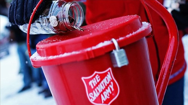 The Salvation Army, serving Chino Valley and Paulden, seeks volunteers to be Red Kettle Bell Ringers at Chino Valley businesses during December prior to Christmas. (Courtesy photo, Salvation Army)