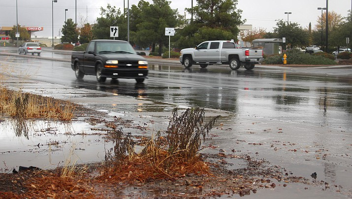 A record 1.25 inches of rain fell in Kingman on Thanksgiving Day, Thursday, Nov. 28.