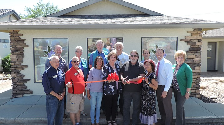 Desert Flower CBD and Wellness, 3131 N. Robert Road, recently celebrated its ribbon cutting as a new member of the Prescott Valley Chamber of Commerce. (Courtesy/Desert Flower CBD and Wellness)