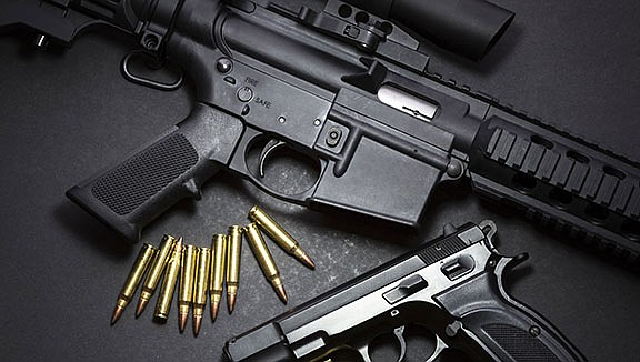 Court records indicate numerous guns purchased legally in Arizona are smuggled into Mexico. (Adobe Image)