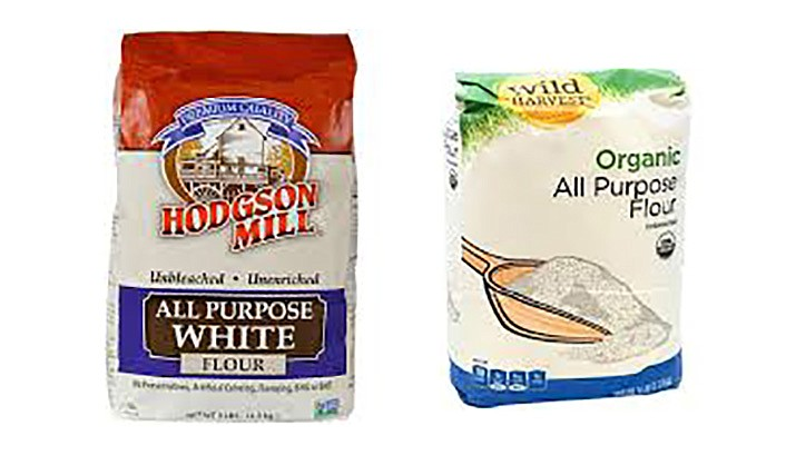 2 brands have issued recalls on bags of flour. (Courtesy)