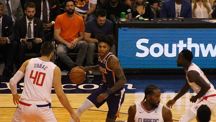 Kelly Oubre Jr. scored 23 points Monday night as the Suns held off the Charlotte Hornets 109-104. (Miner file photo)