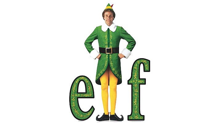 Elf is playing at the Elks Theatre & Performing Arts Center, 117 E. Gurley St. at 7 p.m. on Wednesday, Dec. 4. (Warner Bros.)