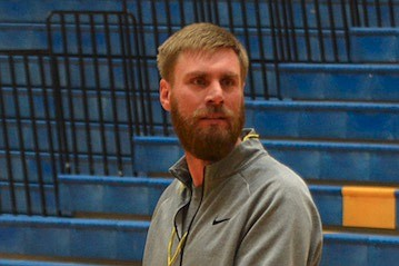 Head Coach Travis Stedman, Prescott Boys Basketball. (Brian M. Bergner Jr./Courier)