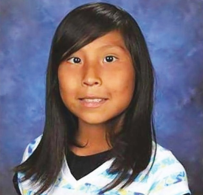 In 2016, 11-year-old Ashlynne Mike was rape d and murdered on the Navajo Nation. At the time, an AMBER Alert plan was not in place on the Nation. (Submitted photo)
