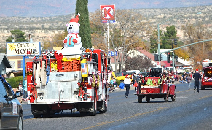 Cottonwood's 65th annual Christmas Parade  will start at 11 a.m., commencing from the parking lot at the Verde Valley Fairgrounds all the way into Old Town Cottonwood. VVN/Vyto Starinskas