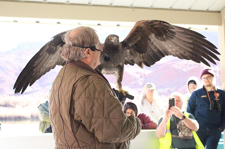 The 2018 Raptor Show Christmas Bird Count for Kids. (Photo/NPS)